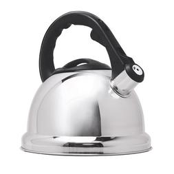 Primula Safe-T Stainless Steel Whistling Tea Kettle