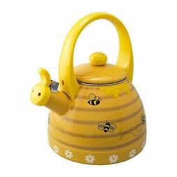 Supreme Housewares Whistling Tea Kettle, Bee Hive
