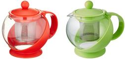 Uniware Tea Coffee Pot With Removable Stainless Steel Filter