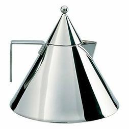 Aldo Rossi 2-qt. Il Conico Water Tea Kettle Stainless Steel,