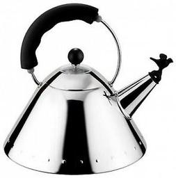 ALESSI MICHAEL GRAVES KETTLE BLACK HANDLE  - NEW