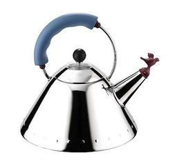 Alessi Michael Graves Stainless Steel Kettle with Bird Whist