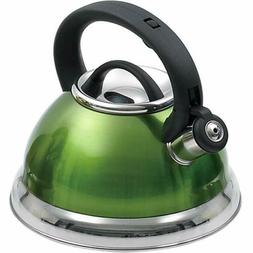 Alexa 3.0 qt. Whistling Stainless Steel Tea Kettle in Metall