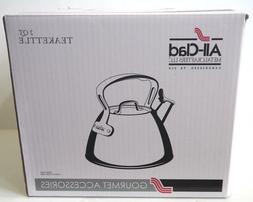 ALL-CLAD E8619964 Stainless Steel Specialty Cookware Tea Ket