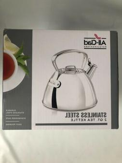 All Clad Stainless Steel Tea Kettle 2 Quart E8619964