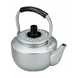 Maekawa Aluminium Hammered Pattern Tea Kettle, Kyusu with Me