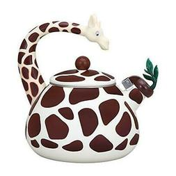 Supreme Housewares 71501 Giraffe Whistling Tea Kettle - 2.4