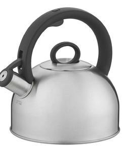 Cuisinart Aura, Silver Stainless Steel Stovetop Tea Kettle,