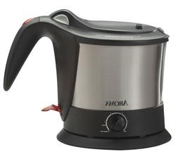 Aroma Housewares AWK-160SB Pasta Plus Water Kettle and Noodl