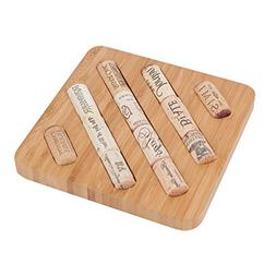 Bamboo Trivet Hot Pad for Pots, Kettles, Dishes, Tea & Coffe