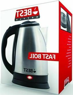 Best Electric Tea Kettle  Cordless - HUGE 2.0L Capacity