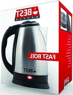 Best Electric Tea Kettle  Cordless - HUGE 2.0L Capacity
