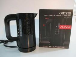 Bodum Bistro Cordless Electric Water Kettle, Black - 17 Oz N