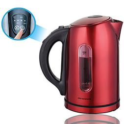 Ovente 1.7 Liter BPA-Free Temperature Control Stainless Stee