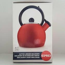 BRAND NEW Copco Vienna Red Tea Kettle 1.5 Qt