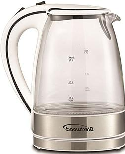 Brentwood 1.7 Liter kt-1900 W Royal Glass Electric Tea Kettl