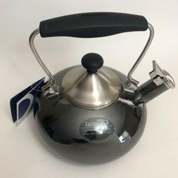 Chantal Bridge Tea Kettle 1.8 qt Enamel On Steel
