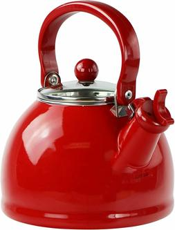 Reston Lloyd Calypso Basic 2.5 Qt. Whistling Tea Kettle