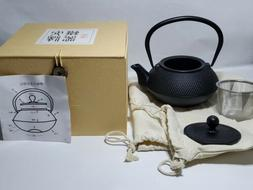 Cast Iron Tea Kettle Combines Both A Kettle And A Teapot. FR
