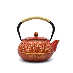 JINGYAT Cast Iron Teapot  Japanese Tetsubin Tea Kettle Durab