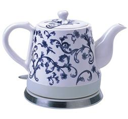 FixtureDisplays Ceramic Electric Kettle Water Boiler Tea Mak