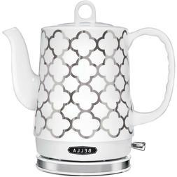 Ceramic Tea Kettle Electric Pot Water Boiler Teapot Stove El