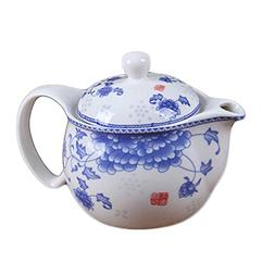 Ceramic Tea Kettle Stylish Teapot With Tea Infuser To Brew L