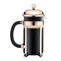 Bodum Classic Chambord Copper 8 Cup French Press Coffee Make