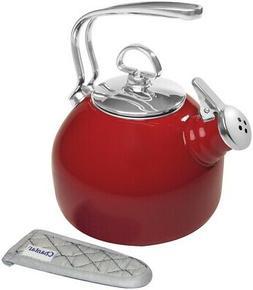 Classic Enamel-on-Steel Teakettle