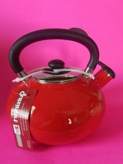 Cuisinart Classic Indulgence 2 Qt. Tea Kettle-Red