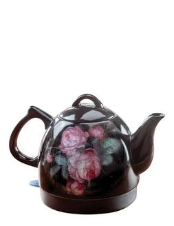 Victorian Trading Co Blooming Roses Electric Hot Water Tea K