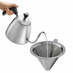 Coffee Kettle Pour Over Coffee Dripper, Gooseneck Kettle