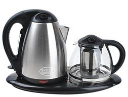Home N Kitchenware Collection 2 Piece Electric Tea Maker Set