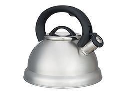 collection stainless steel whistling teakettle