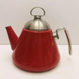 Chantal Cone Red Tea Kettle