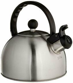 Copco 2503-7797 Tucker Brushed Stainless Steel Tea Kettle, 1