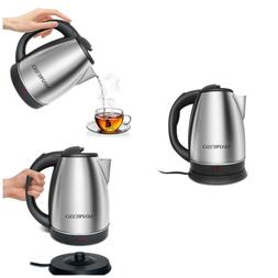 cordless electric kettle tea coffee espresso hot