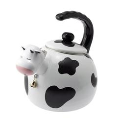 Supreme Housewares 71508 Cow Whistling Tea Kettle - 2.5 quar