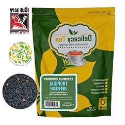 "Delicious Premium Grade All Natural Loose Leaf ""Tropical R"