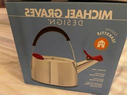 Michael Graves Design Tea kettle Easy fill Stainless Steel