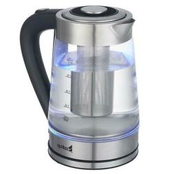 ZOKOP Durable 1500W 2.5L Electric Glass Hot Water Kettle Tea