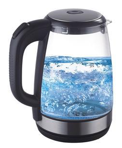 2.1 Quart Electric Tea Kettle Blue LED Light Fast Boiling, B