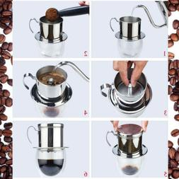 Electric Drip Coffee Tea Espresso Maker Pot Cafe Office Home