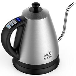 Electric Gooseneck Kettle with Preset Variable Heat Settings