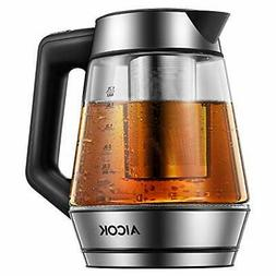 Aicok Electric Kettle, 1.7L  Tea Kettle with Temperature Con