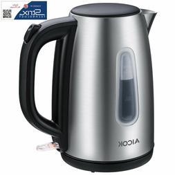 Aicok Electric Kettle Premium 304 Stainless Steel Tea Kettle