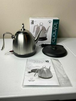 Chantal Electric Kettle, 32 oz, Brushed Stainless Steel