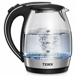 KIKET Electric Kettle , 1.8L Glass Tea Kettle KEC8063A-UL