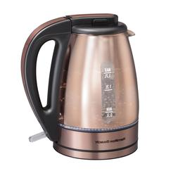 Hamilton Beach Electric Kettle Copper 1.7L 40866