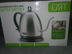 TRU ELECTRIC KETTLE GOOSENECK ONE LITER Precision Spout Quic
